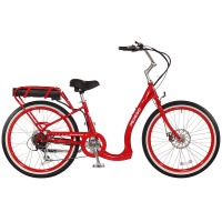 2017 Pedego Boomerang Plus Electric Bicycle – Red/Black