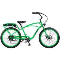 2017 Pedego Classic Interceptor III Electric Bicycle – Lime Green