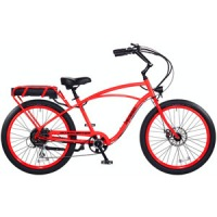 2017 Pedego Classic Interceptor III Electric Bicycle – Neon Orange