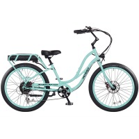 2017 Pedego Step Thru Interceptor III Electric Bicycle – Sea Foam