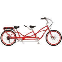2017 Pedego Tandem Electric Bicycle – Red