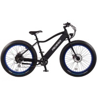 2017 Pedego Trail Tracker IV Fat Tire Electric Bike – Black/Blue