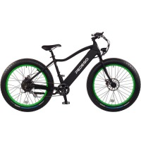 2017 Pedego Trail Tracker IV Fat Tire Electric Bike – Black/Lime