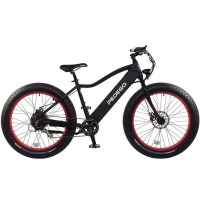 2017 Pedego Trail Tracker IV Fat Tire Electric Bike – Black/Red