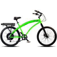 ProdecoTech Islander V5 Electric Bicycle – Green/Black