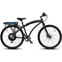 ProdecoTech Phantom 400 M MonoShock Electric Bicycle – Black