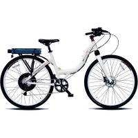 ProdecoTech Stride 400 M MonoShock Electric Bicycle – White