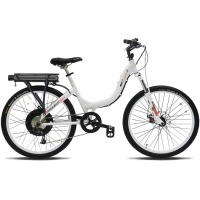 ProdecoTech Stride 500 V5 Electric Bicycle – White/Black