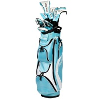 Tour Edge Hot Launch Complete Set – Womens Blue