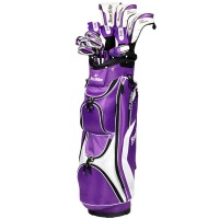 Tour Edge Hot Launch Complete Set – Womens Purple