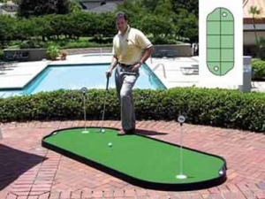 Tour Links 4'x10′ Indoor/Outdoor Putting Green